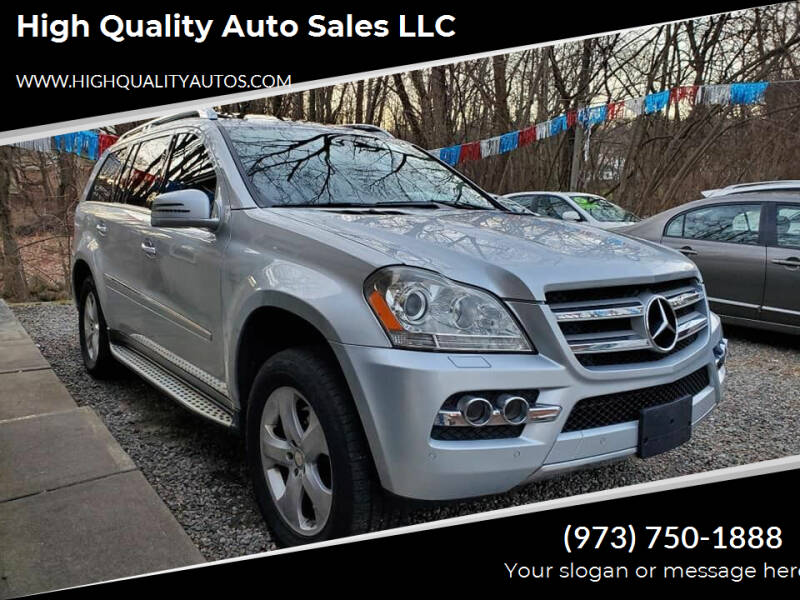 2011 Mercedes-Benz GL-Class for sale at High Quality Auto Sales LLC in Bloomingdale NJ