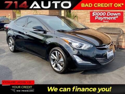 2014 Hyundai Elantra for sale at 714 Auto in Orange CA