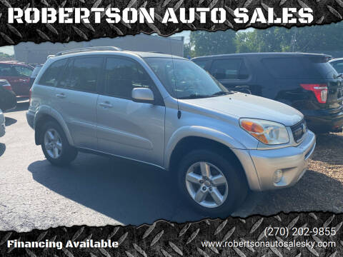 2004 Toyota RAV4 for sale at ROBERTSON AUTO SALES in Bowling Green KY