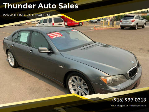 2006 BMW 7 Series for sale at Thunder Auto Sales in Sacramento CA