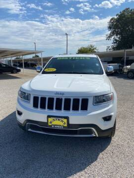 2014 Jeep Grand Cherokee for sale at Bostick's Auto & Truck Sales LLC in Brownwood TX