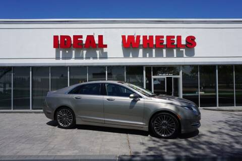 2015 Lincoln MKZ for sale at Ideal Wheels in Sioux City IA