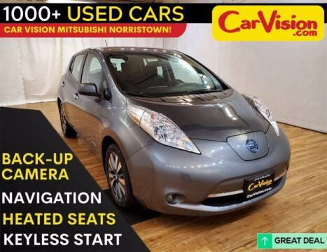 2017 Nissan LEAF for sale at Car Vision Buying Center in Norristown PA