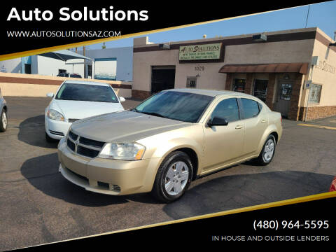 2010 Dodge Avenger for sale at Auto Solutions in Mesa AZ