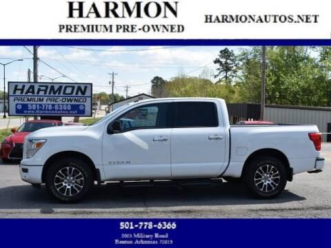 2021 Nissan Titan for sale at Harmon Premium Pre-Owned in Benton AR