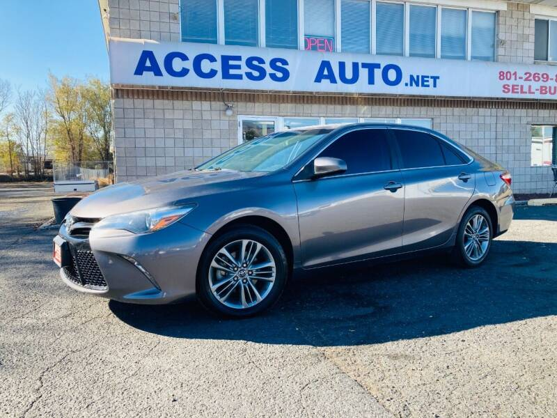 2017 Toyota Camry for sale at Access Auto in Salt Lake City UT