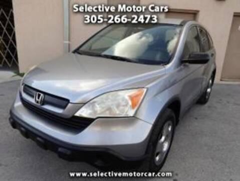 2008 Honda CR-V for sale at Selective Motor Cars in Miami FL