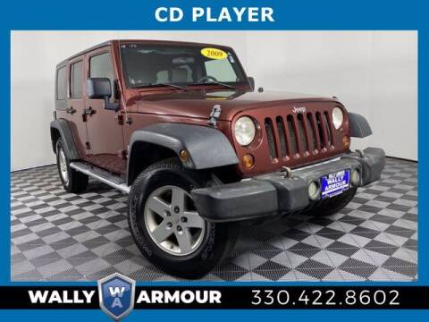 2009 Jeep Wrangler Unlimited for sale at Wally Armour Chrysler Dodge Jeep Ram in Alliance OH