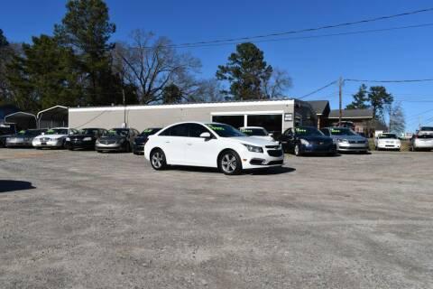 2016 Chevrolet Cruze Limited for sale at Barrett Auto Sales in North Augusta SC