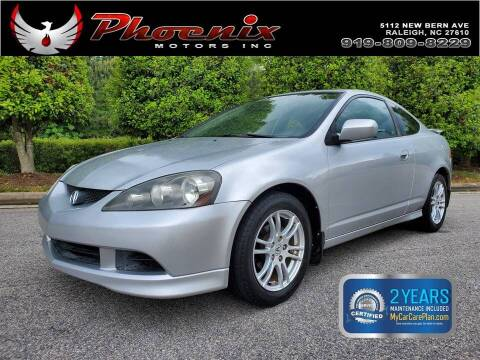 2006 Acura RSX for sale at Phoenix Motors Inc in Raleigh NC
