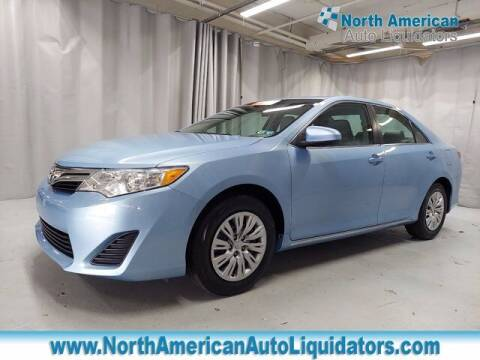 2013 Toyota Camry for sale at North American Auto Liquidators in Essington PA