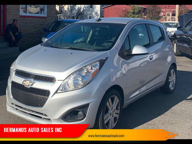 2013 Chevrolet Spark for sale at HERMANOS AUTO SALES INC in Hamilton OH