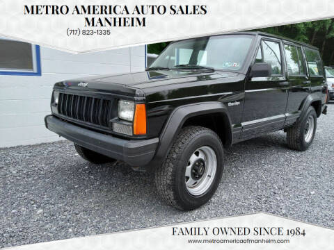 1996 Jeep Cherokee for sale at METRO AMERICA AUTO SALES of Manheim in Manheim PA