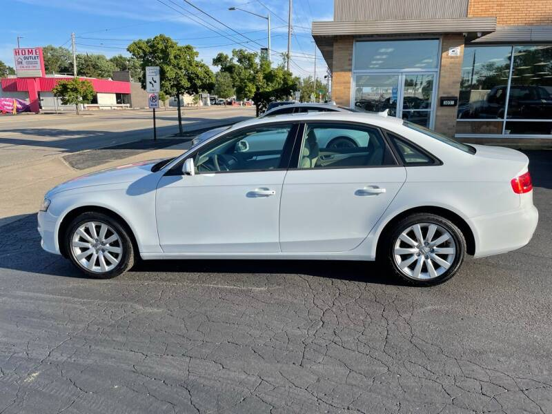 2012 Audi A4 for sale at Auto Sport INC in Grand Rapids MI