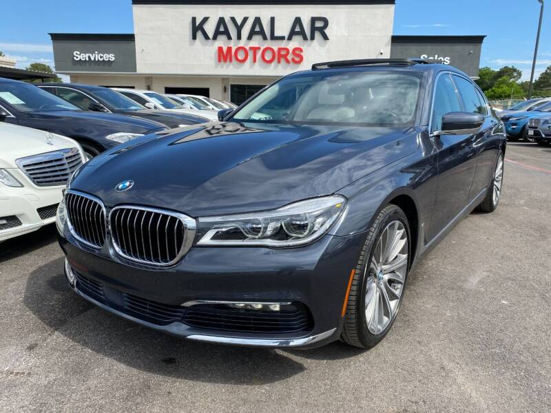 2016 BMW 7 Series for sale at KAYALAR MOTORS in Houston TX