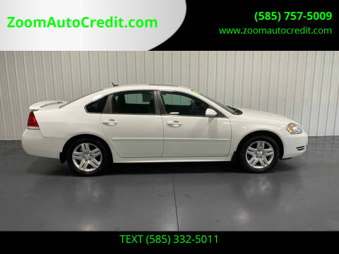 2012 Chevrolet Impala for sale at ZoomAutoCredit.com in Elba NY