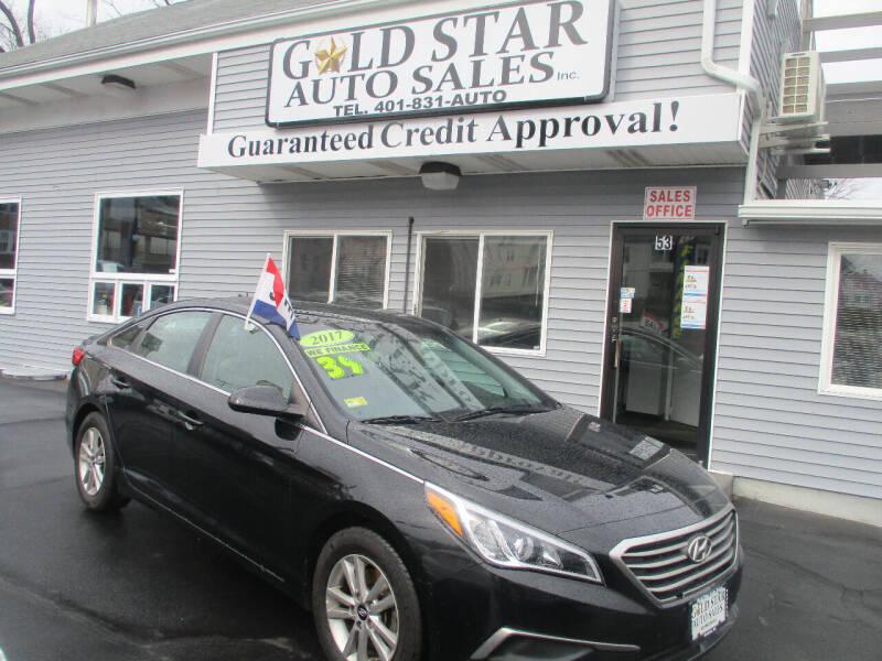 2017 Hyundai Sonata for sale at Gold Star Auto Sales in Johnston RI