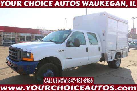 2000 Ford F-450 Super Duty for sale at Your Choice Autos - Waukegan in Waukegan IL