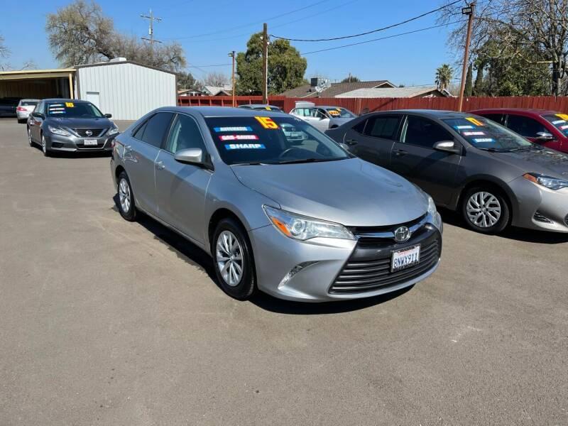 2015 Toyota Camry for sale at Mega Motors Inc. in Stockton CA