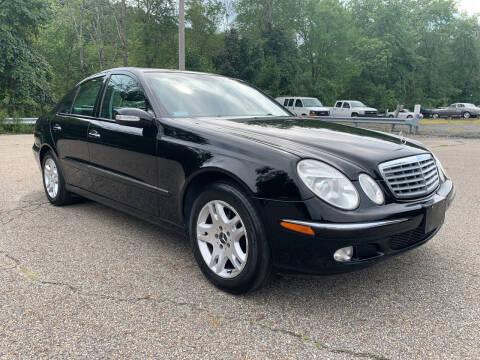 2004 Mercedes-Benz E-Class for sale at George Strus Motors Inc. in Newfoundland NJ