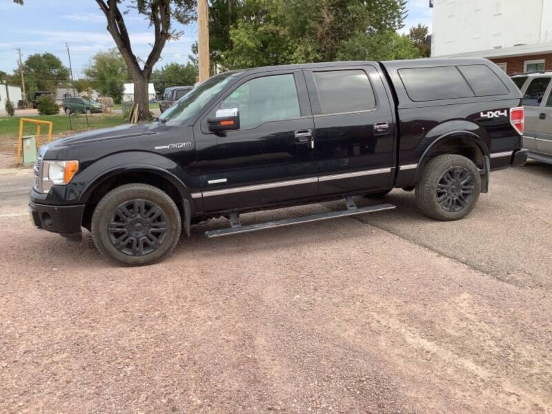 2012 Ford F-150 for sale at Paris Fisher Auto Sales Inc. in Chadron NE