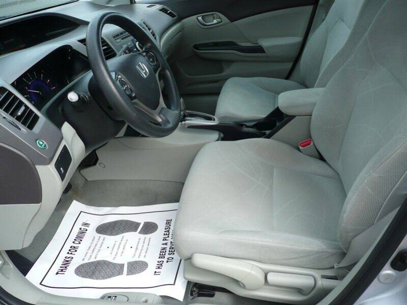 2012 Honda Civic LX 4dr Sedan 5A - East Windsor CT
