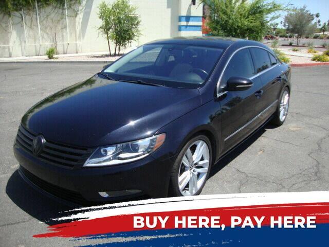 2013 Volkswagen CC for sale at FREDRIK'S AUTO in Mesa AZ