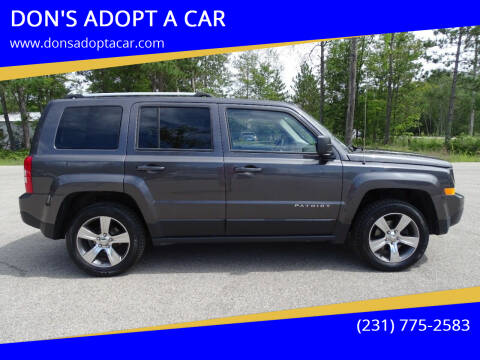 2017 Jeep Patriot for sale at DON'S ADOPT A CAR in Cadillac MI
