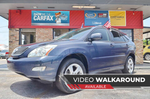2006 Lexus RX 330 for sale at ALWAYSSOLD123 INC in North Miami Beach FL