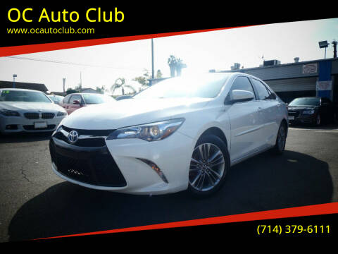 2015 Toyota Camry Hybrid for sale at OC Auto Club in Midway City CA
