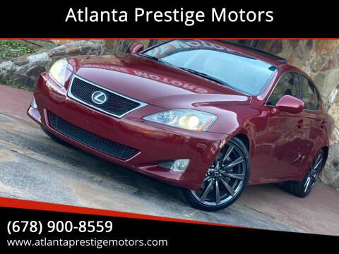 2008 Lexus IS 350 for sale at Atlanta Prestige Motors in Decatur GA