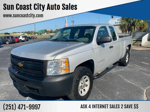 2013 Chevrolet Silverado 1500 for sale at Sun Coast City Auto Sales in Mobile AL