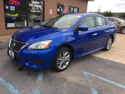 2014 Nissan Sentra for sale at Bankruptcy Car Financing in Norfolk VA