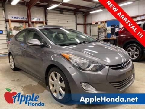 2013 Hyundai Elantra for sale at APPLE HONDA in Riverhead NY