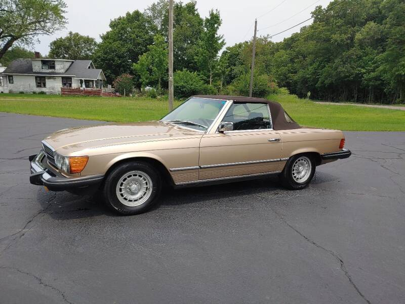 1984 Mercedes-Benz 380-Class for sale at Depue Auto Sales Inc in Paw Paw MI