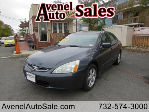 2005 Honda Accord for sale at Avenel Auto Sales in Avenel NJ