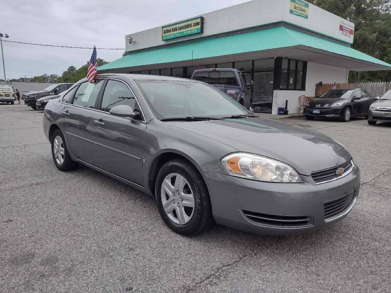 2006 Chevrolet Impala for sale at Action Auto Specialist in Norfolk VA