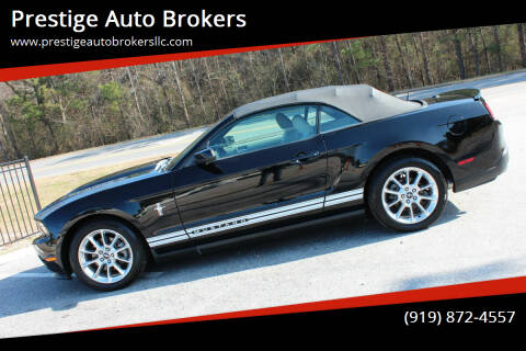 2011 Ford Mustang for sale at Prestige Auto Brokers in Raleigh NC