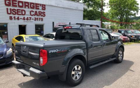 2011 Nissan Frontier for sale at George's Used Cars Inc in Orbisonia PA