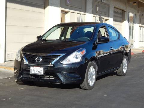 2015 Nissan Versa for sale at Gilroy Motorsports in Gilroy CA