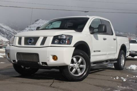 2008 Nissan Titan for sale at REVOLUTIONARY AUTO in Lindon UT