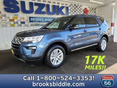 2018 Ford Explorer for sale at BROOKS BIDDLE AUTOMOTIVE in Bothell WA