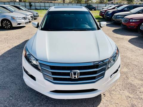 2012 Honda Crosstour for sale at Good Auto Company LLC in Lubbock TX