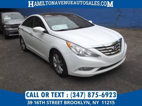 2013 Hyundai Sonata for sale at Hamilton Avenue Auto Sales in Brooklyn NY