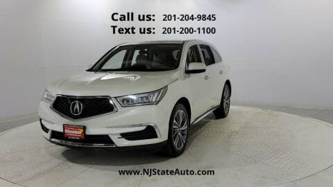 2017 Acura MDX for sale at NJ State Auto Used Cars in Jersey City NJ