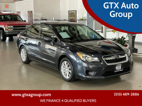 2014 Subaru Impreza for sale at GTX Auto Group in West Chester OH