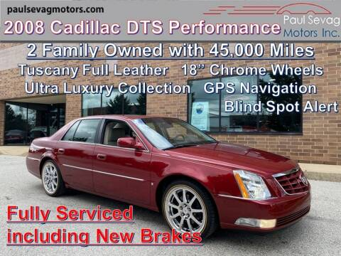 2008 Cadillac DTS for sale at Paul Sevag Motors Inc in West Chester PA