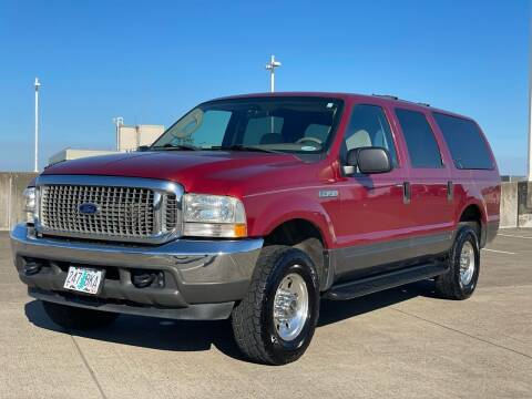 2004 Ford Excursion for sale at Rave Auto Sales in Corvallis OR