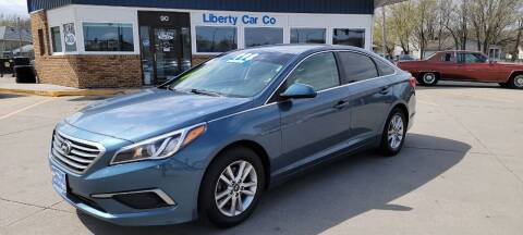 2016 Hyundai Sonata for sale at Liberty Car Company in Waterloo IA