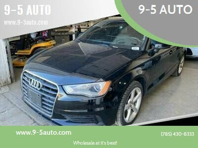 2015 Audi A3 for sale at 9-5 AUTO in Topeka KS
